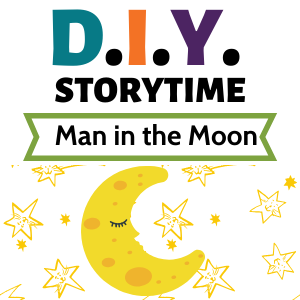 DIY Storytime Man in the moon